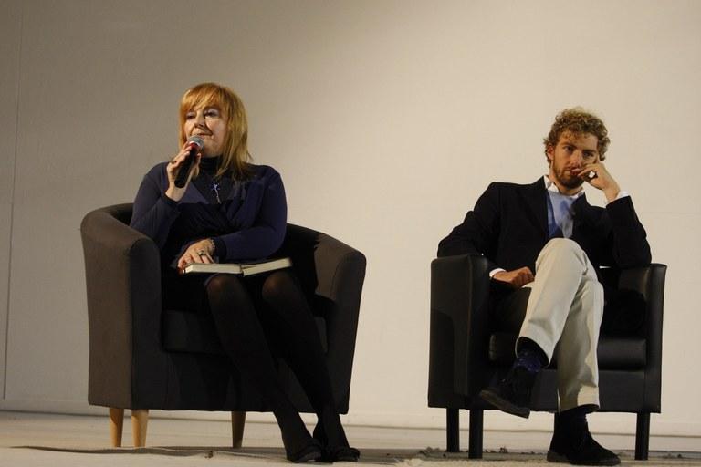 Alessandro D'Avenia con Bianca Garavelli