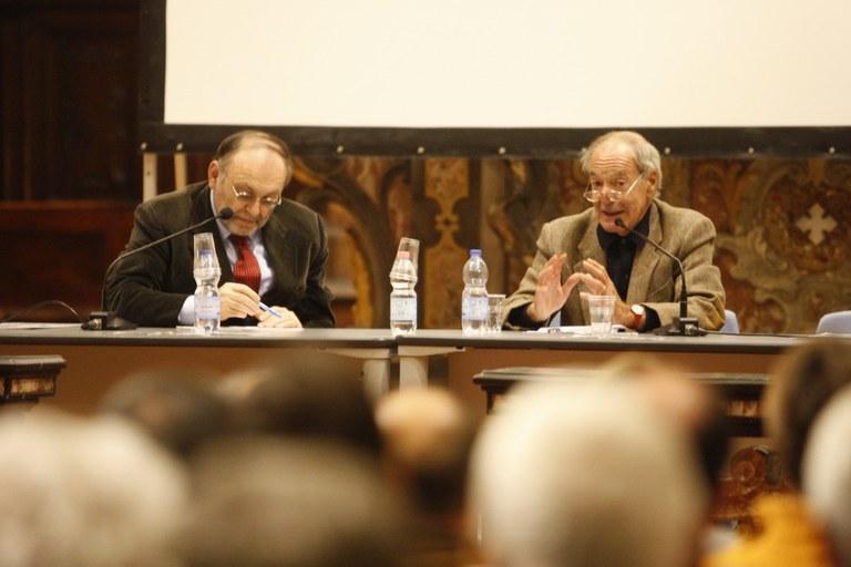 Armando Torno con Salvatore Veca