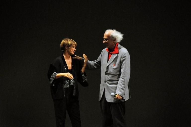 Stefano Benni e Lella Costa