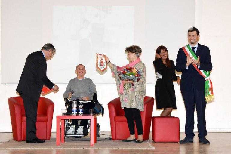 Simonetta Agnello Hornby durante la premiazione