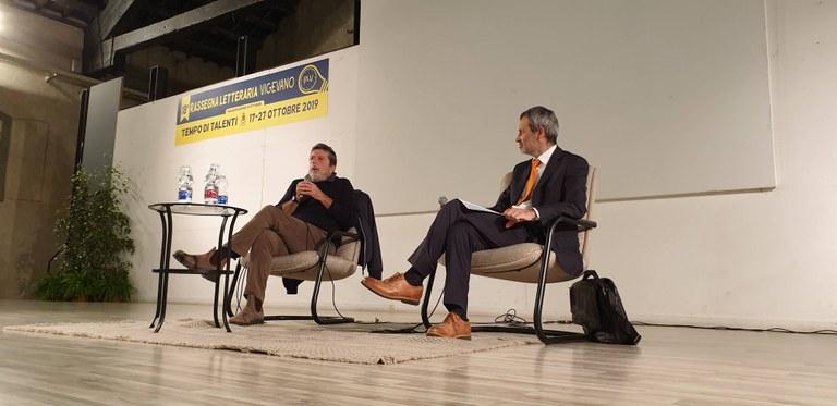 Andrea Purgatori con Paolo Perazzolo
