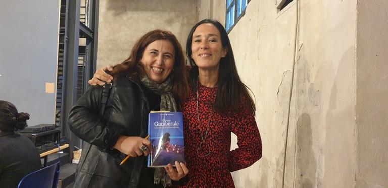 Chiara Gamberale in compagnia di Alessandra Tedesco