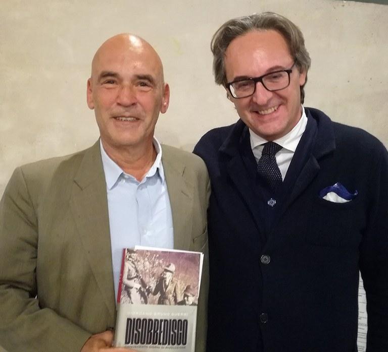Giordano Bruno Guerri con Luigi Mascheroni