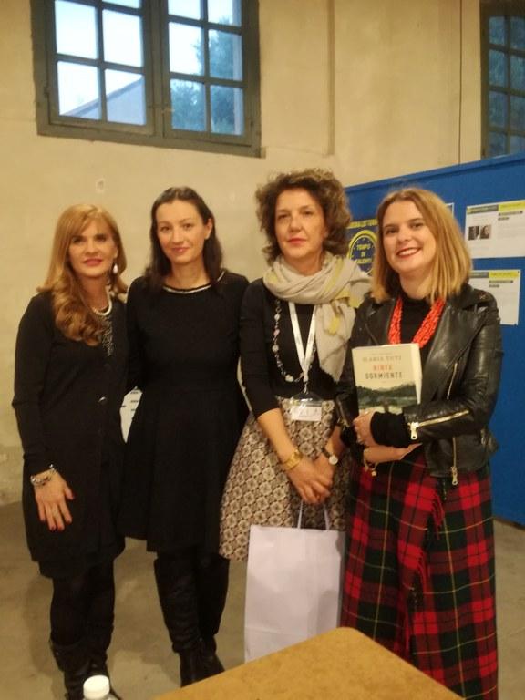 Franca Ottoboni, Ilaria Tuti, Raffaella Barbero e Martina Azzolari