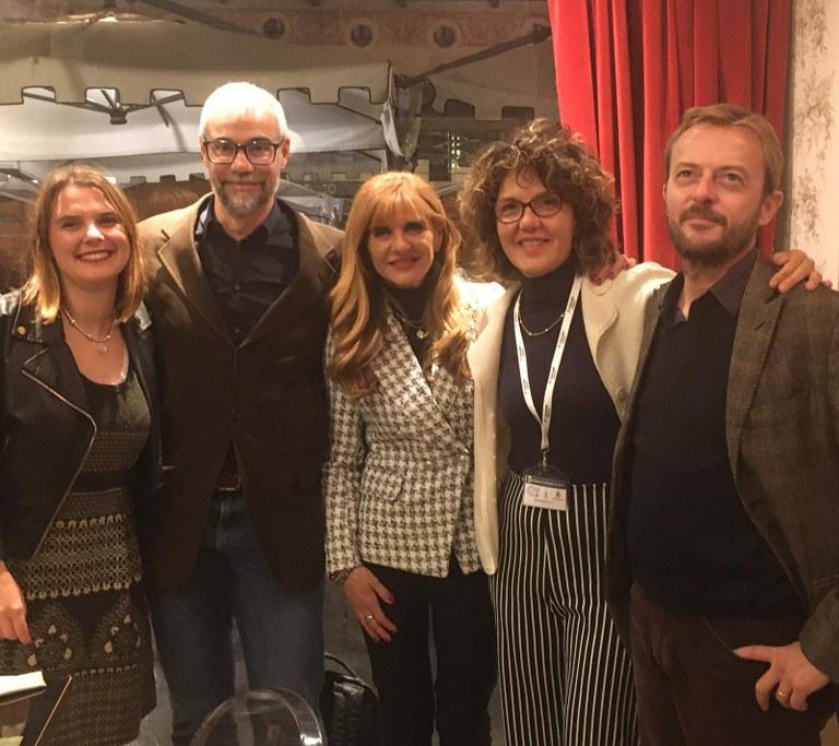 Martina Azzolari, Marco Malvaldi, Franca Ottoboni, Raffaella Barbero e Matteo Ubezio