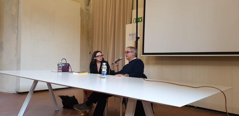 Maurizio Crosetti con Annarita Briganti