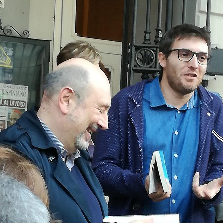 Piersandro Pallavicini e Filippo Taddia