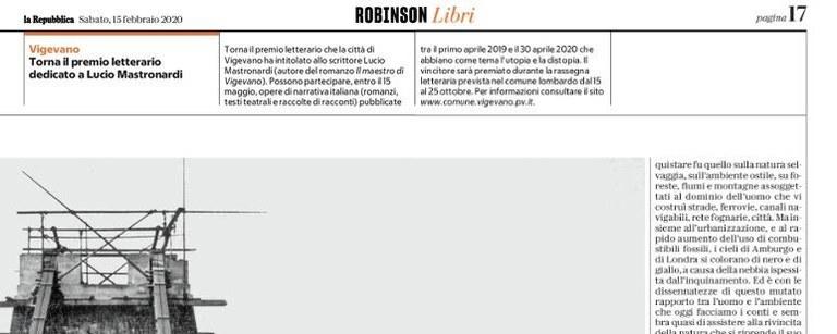 La Repubblica - Robinson