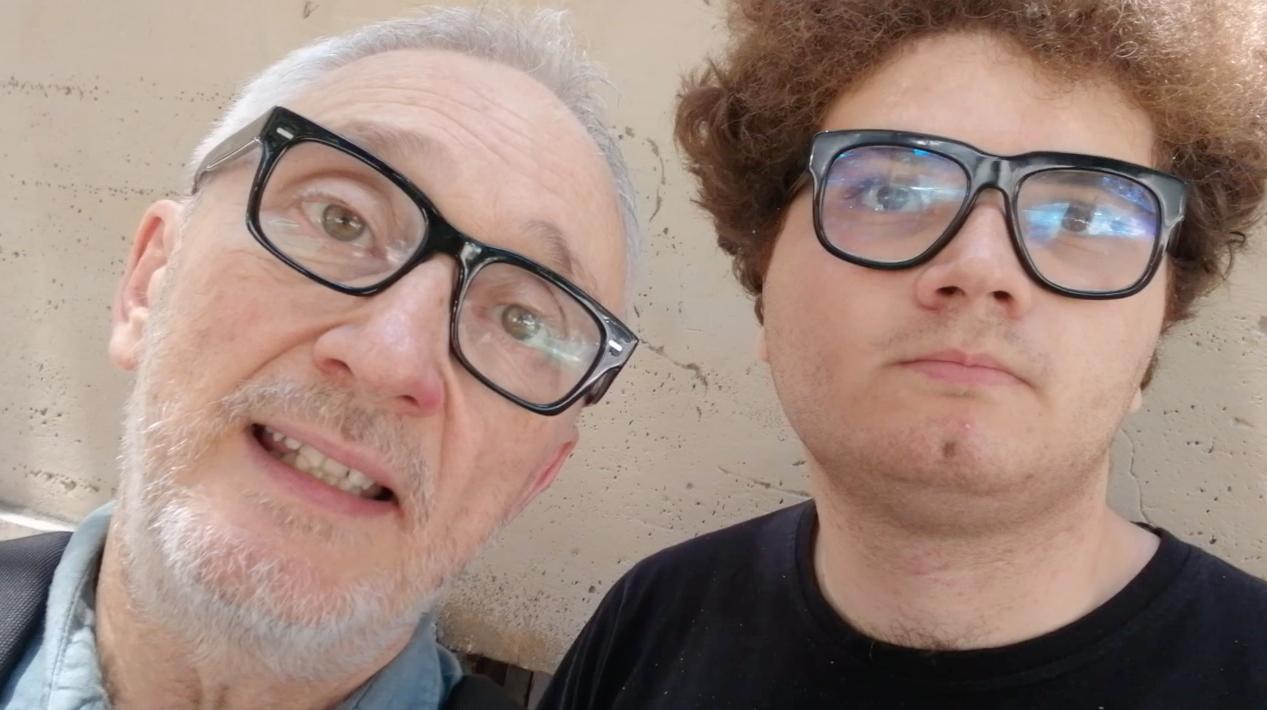 Gianluca Nicoletti con Paolo Perazzolo